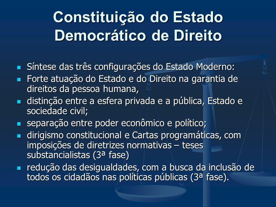 Constituição do Estado Democrático de Direito