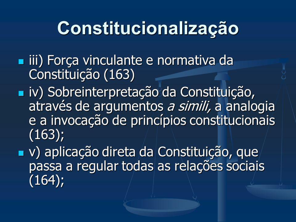 Constitucionalização