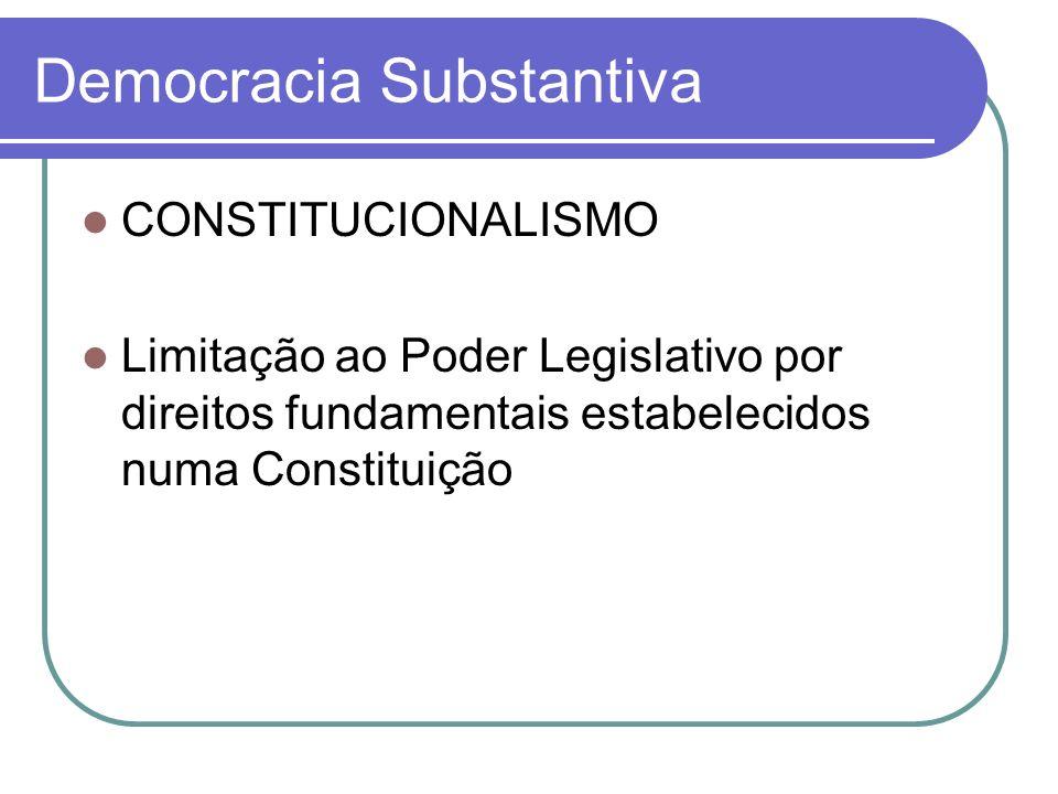 Democracia Substantiva