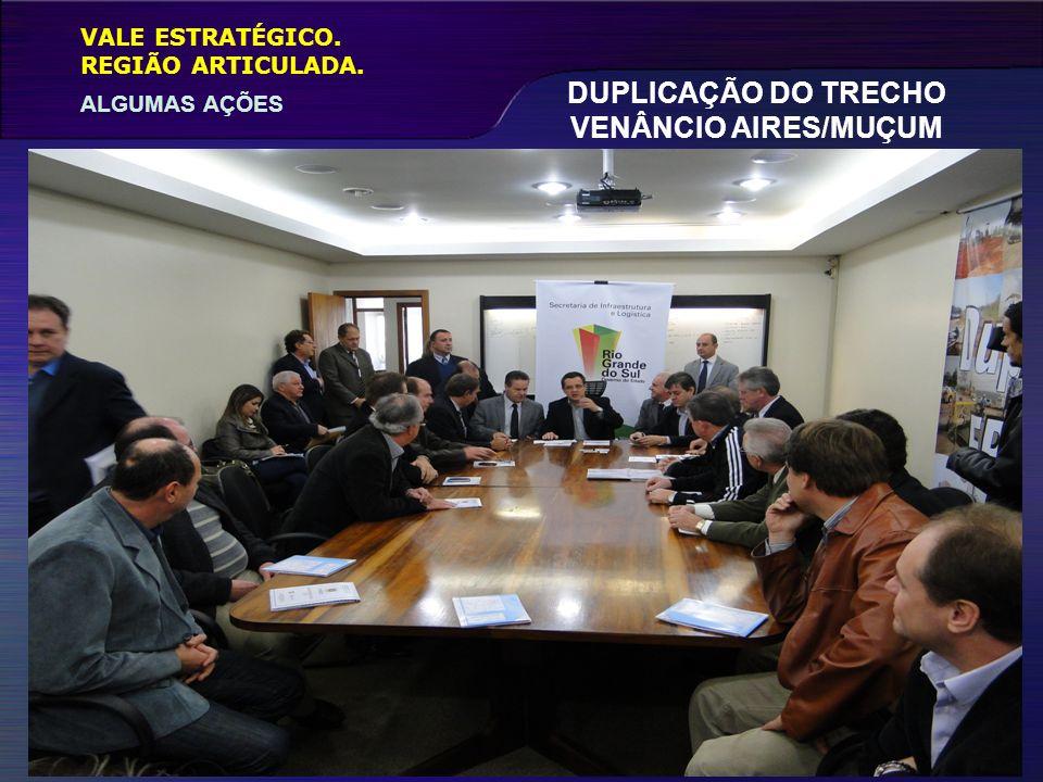 DUPLICAÇÃO DO TRECHO VENÂNCIO AIRES/MUÇUM