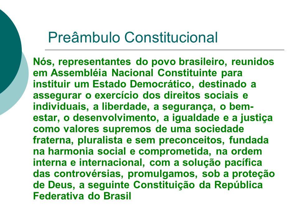 Preâmbulo Constitucional
