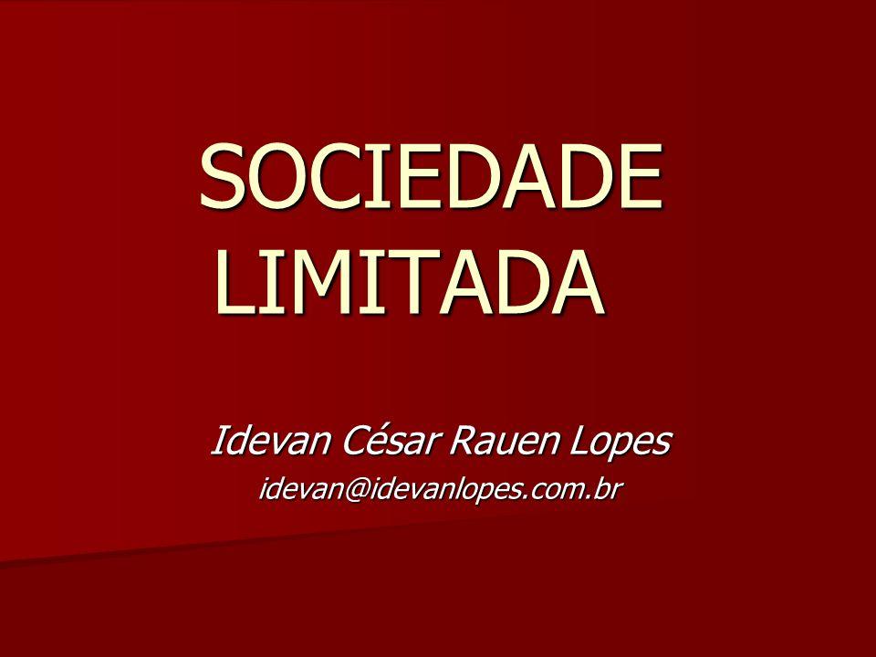 Idevan César Rauen Lopes idevan@idevanlopes.com.br