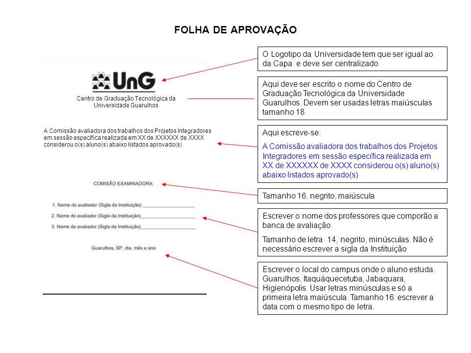 Centro de Graduação Tecnológica da Universidade Guarulhos