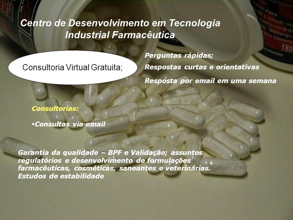 Centro de Desenvolvimento em Tecnologia Industrial Farmacêutica