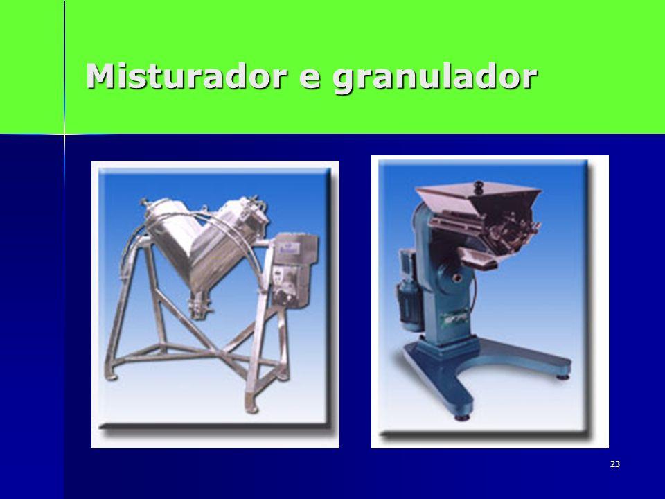 Misturador e granulador