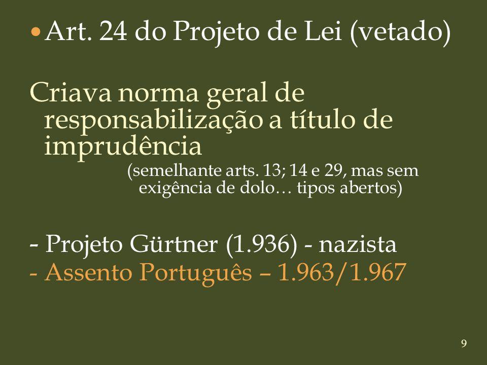 Art. 24 do Projeto de Lei (vetado)