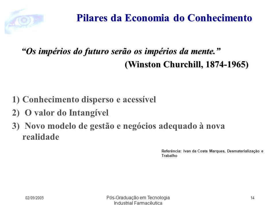 Pilares da Economia do Conhecimento