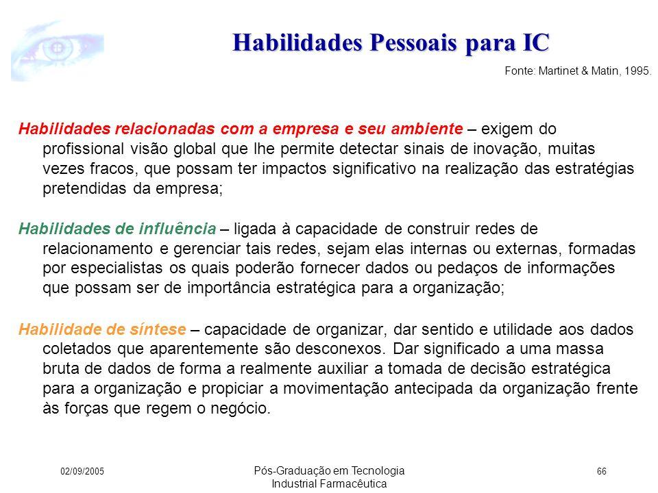 Habilidades Pessoais para IC
