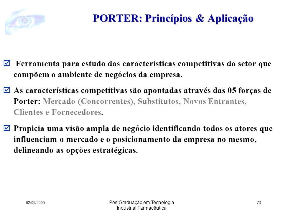 PORTER: Princípios & Aplicação