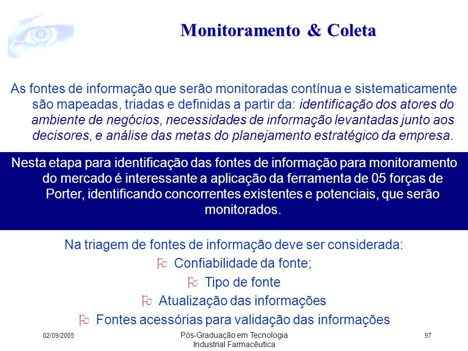 Monitoramento & Coleta