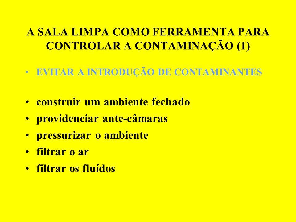 A SALA LIMPA COMO FERRAMENTA PARA CONTROLAR A CONTAMINAÇÃO (1)