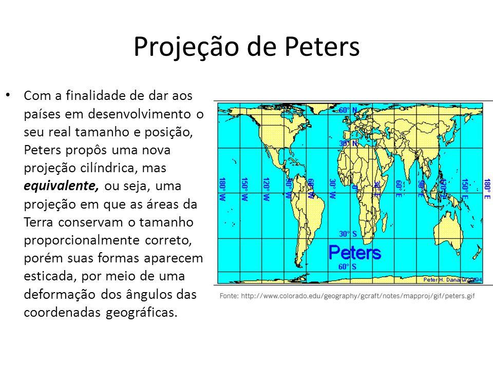 Projeção de Peters