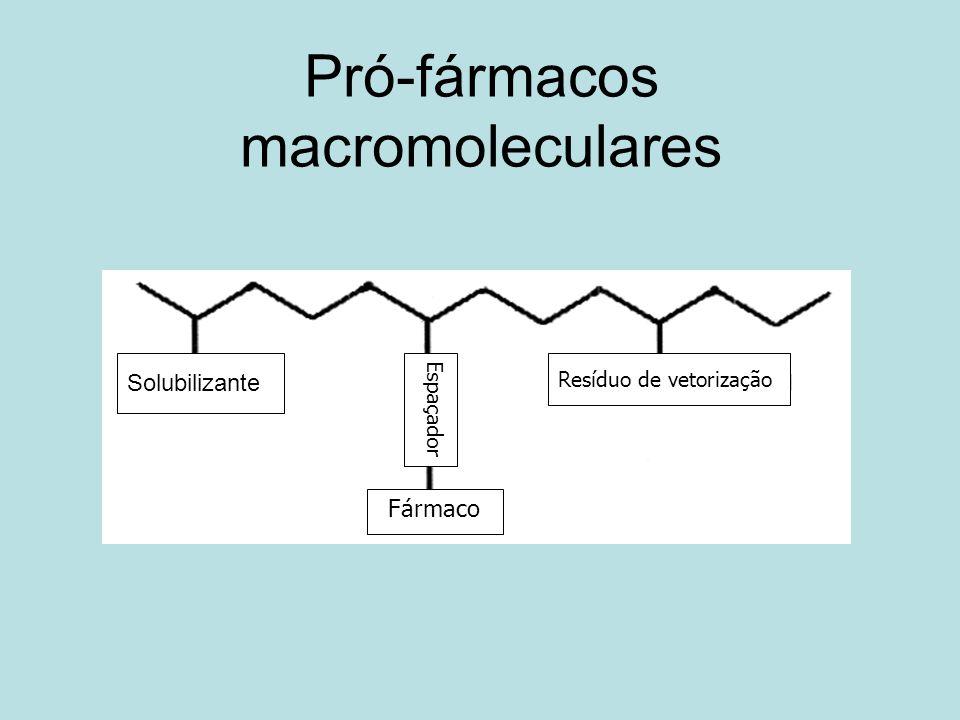 Pró-fármacos macromoleculares