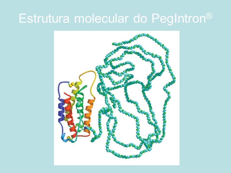 Estrutura molecular do PegIntron®