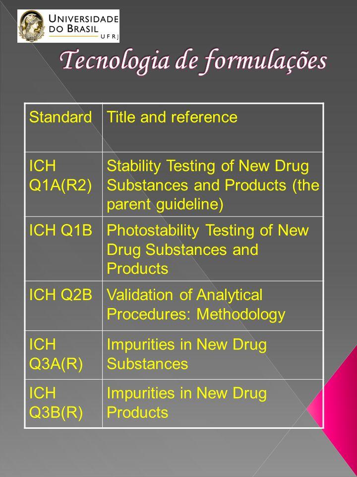 Tecnologia de formulações