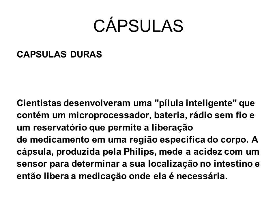 CÁPSULAS CAPSULAS DURAS