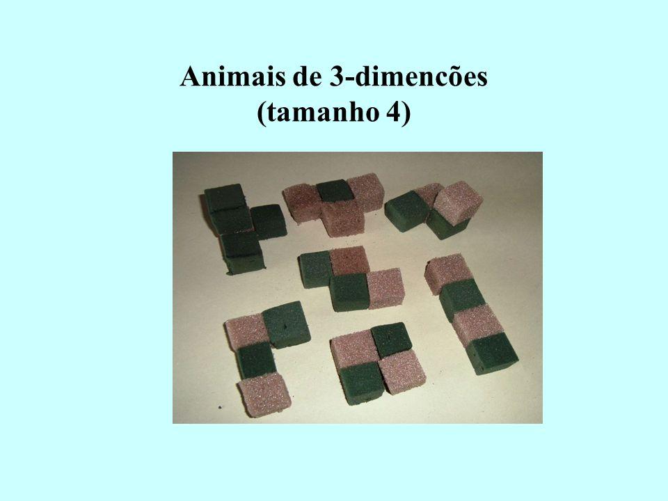 Animais de 3-dimencões (tamanho 4)