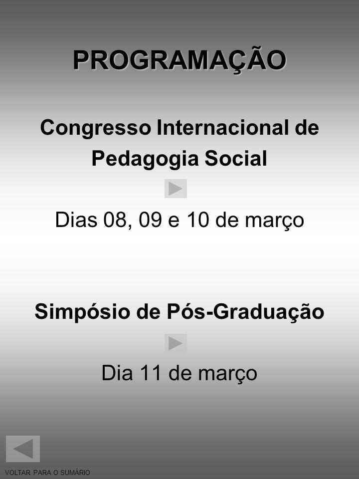 Congresso Internacional de Simpósio de Pós-Graduação