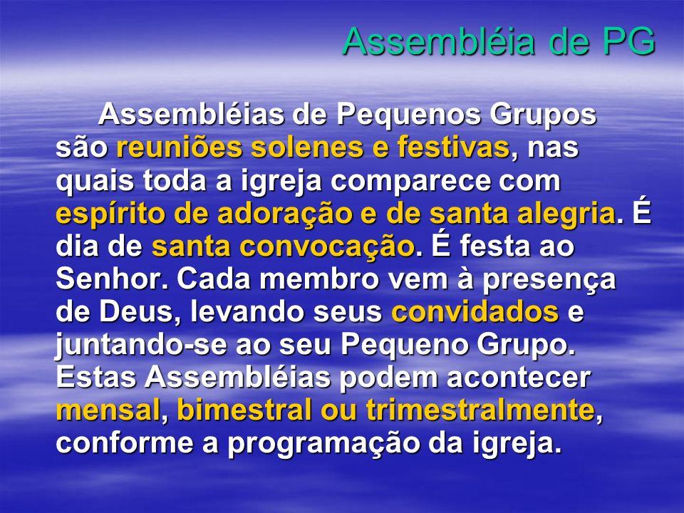 Assembléia de PG