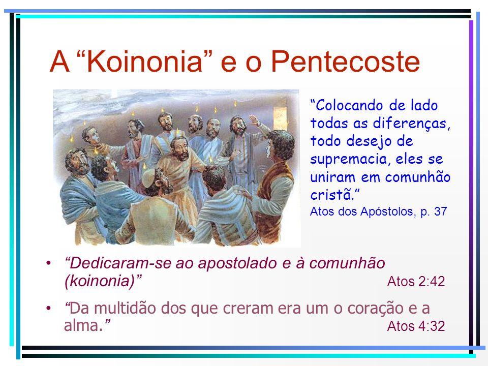 A Koinonia e o Pentecoste