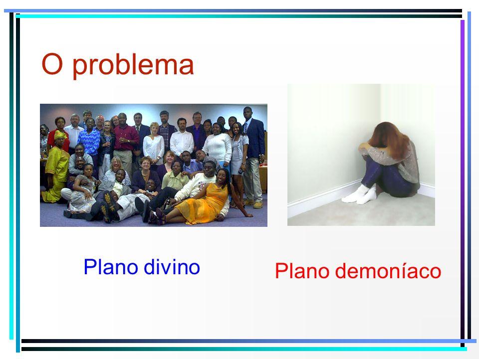 O problema Plano divino Plano demoníaco