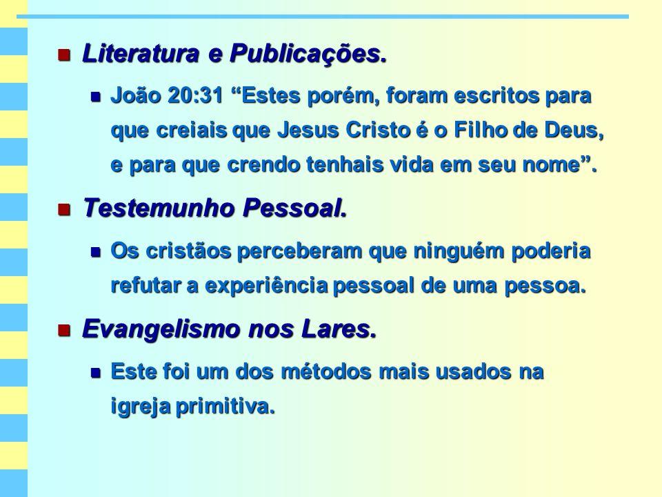 Literatura e Publicações.