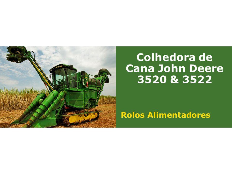 Colhedora de Cana John Deere 3520 & 3522