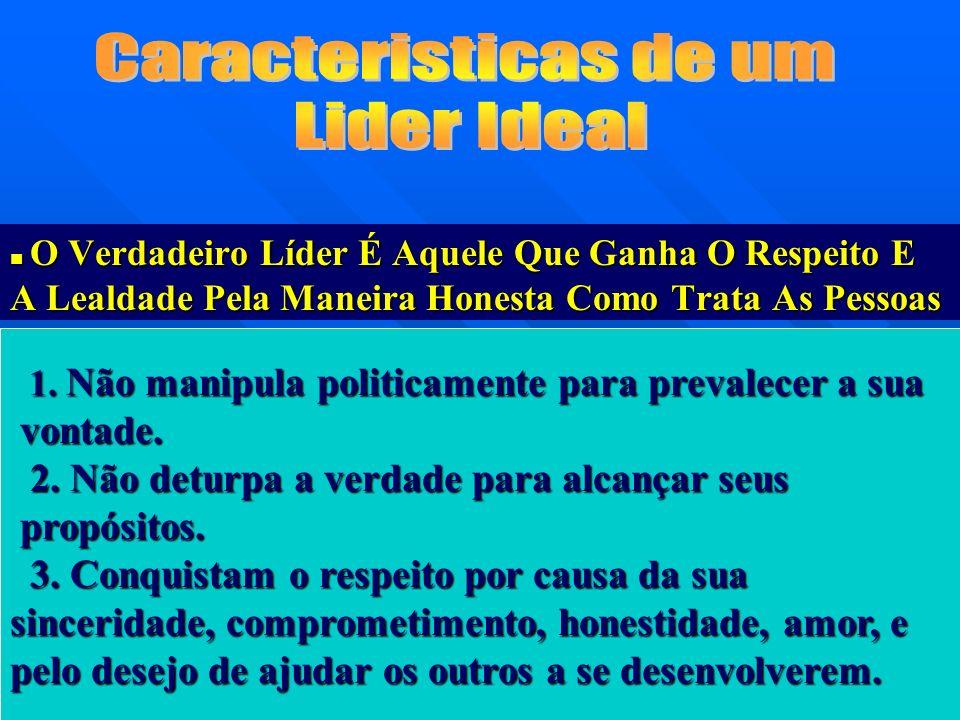 Caracteristicas de um Lider Ideal vontade.