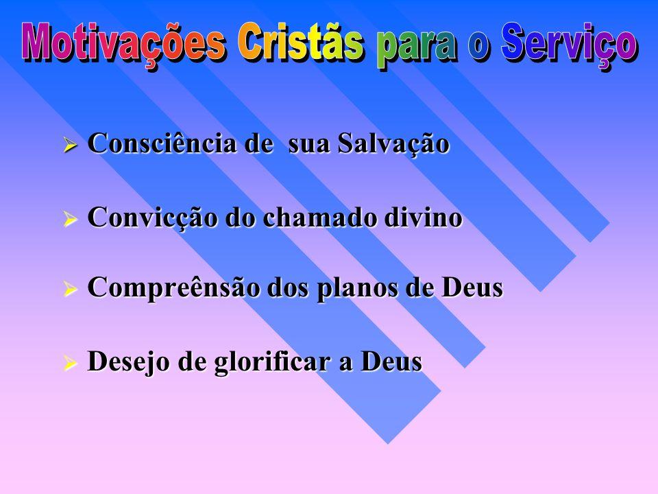 Motivações Cristãs para o Serviço