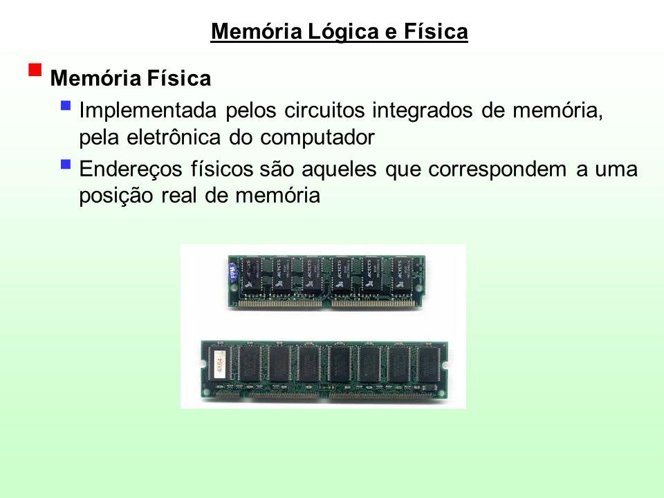 Memória Lógica e Física