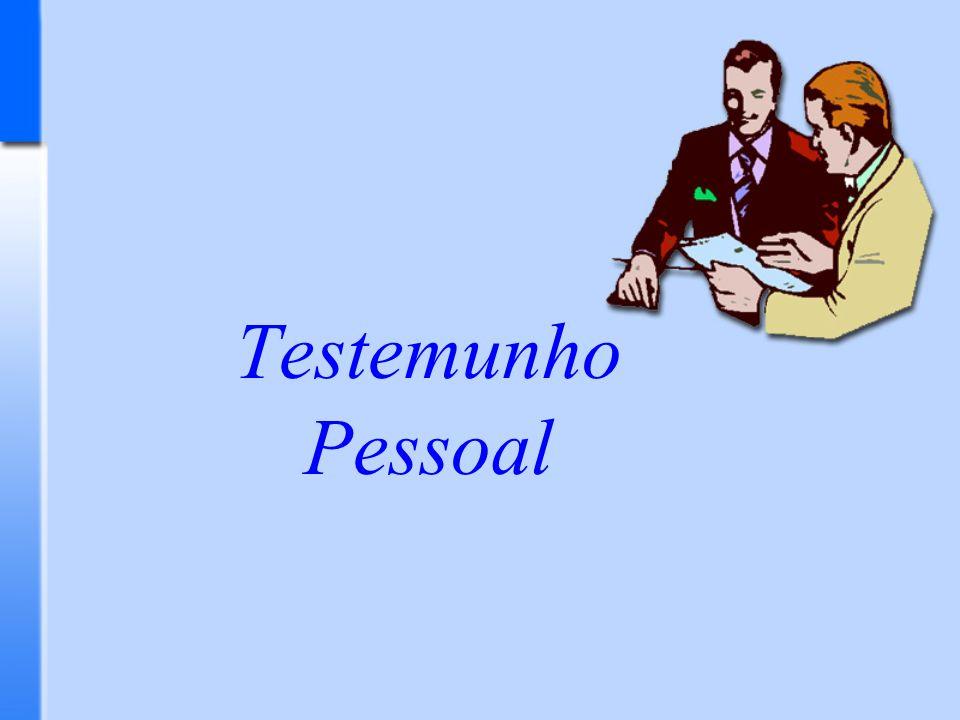 Testemunho Pessoal