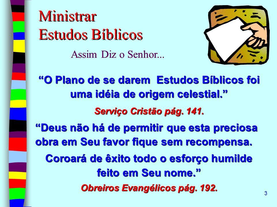 Ministrar Estudos Bíblicos