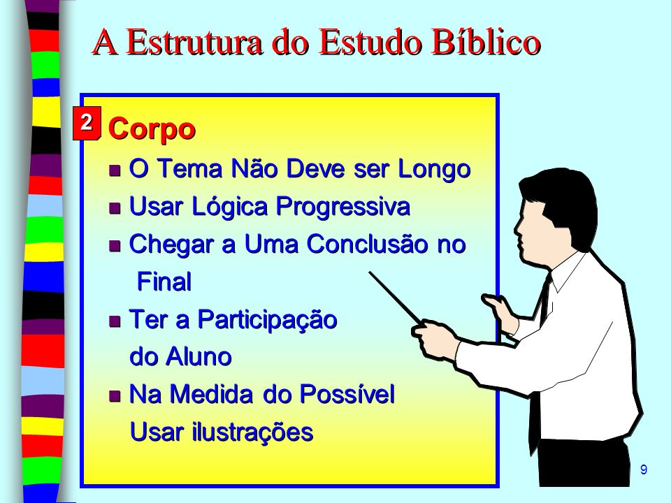 A Estrutura do Estudo Bíblico