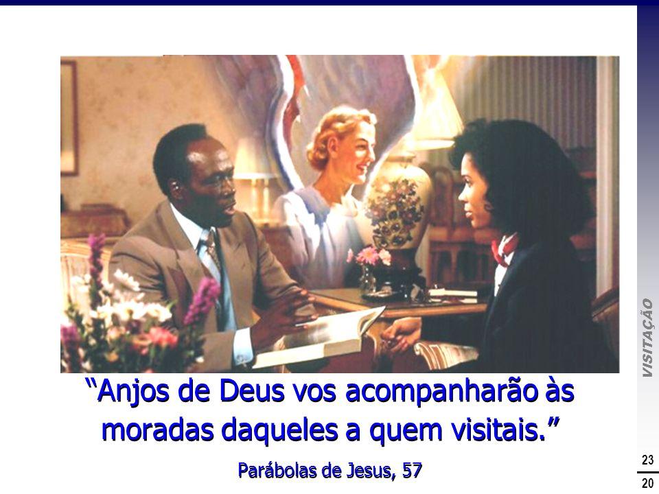 Anjos de Deus vos acompanharão às moradas daqueles a quem visitais.