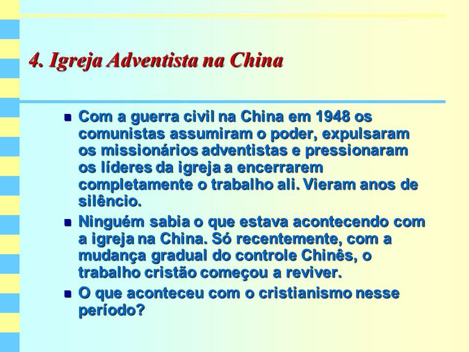 4. Igreja Adventista na China