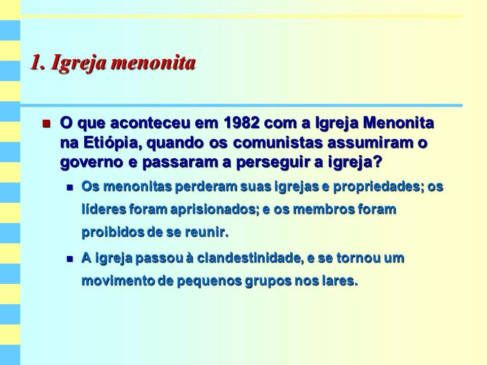 1. Igreja menonita