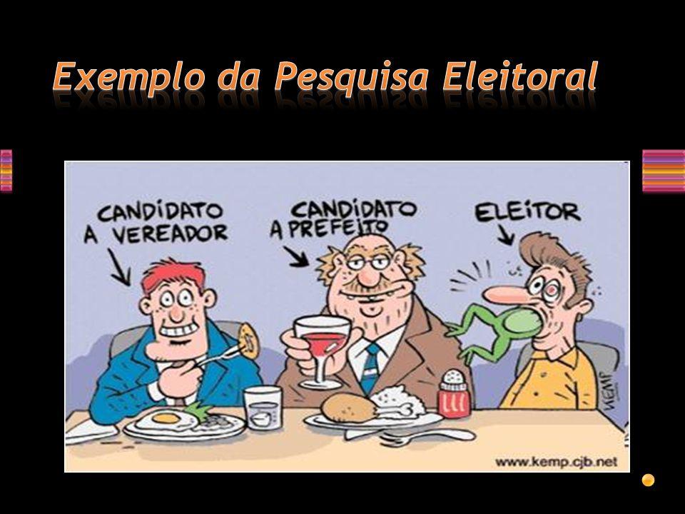 Exemplo da Pesquisa Eleitoral