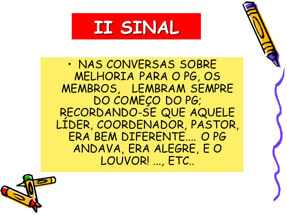 II SINAL