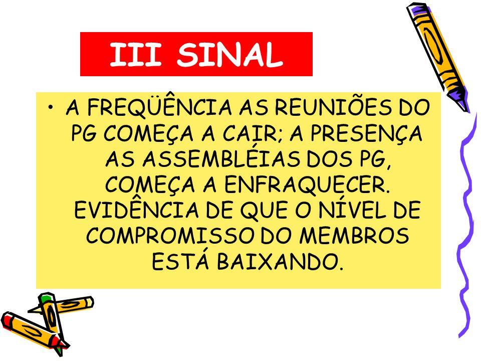 III SINAL