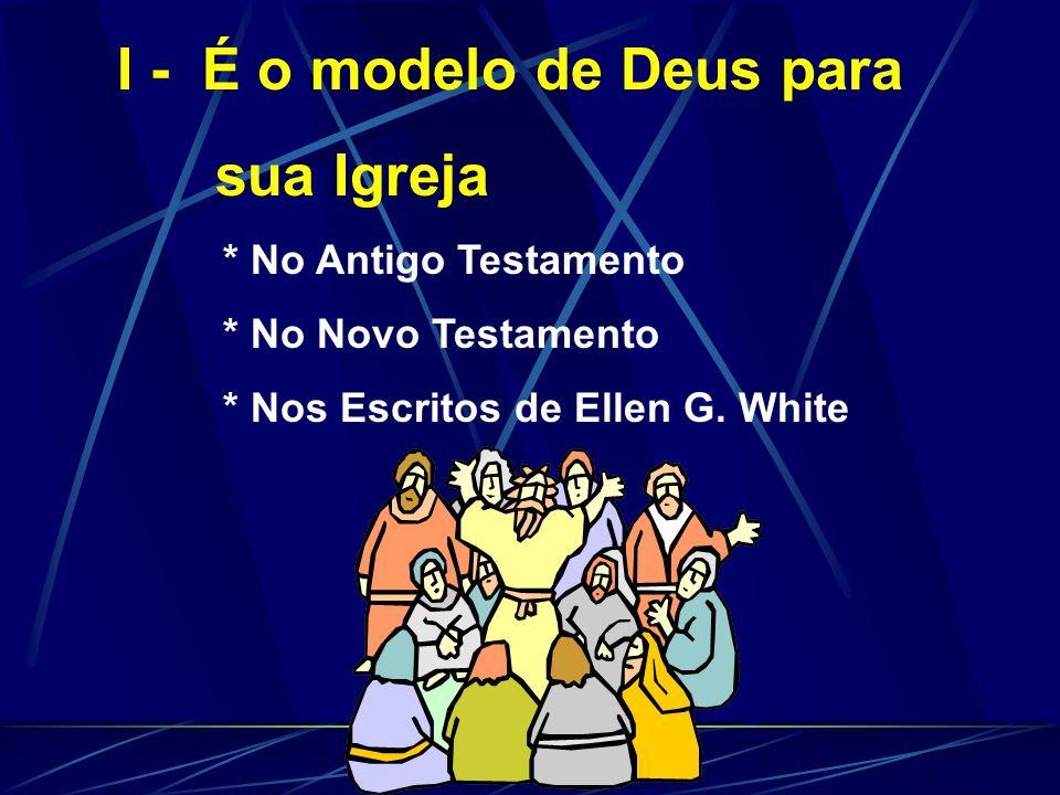 I - É o modelo de Deus para sua Igreja