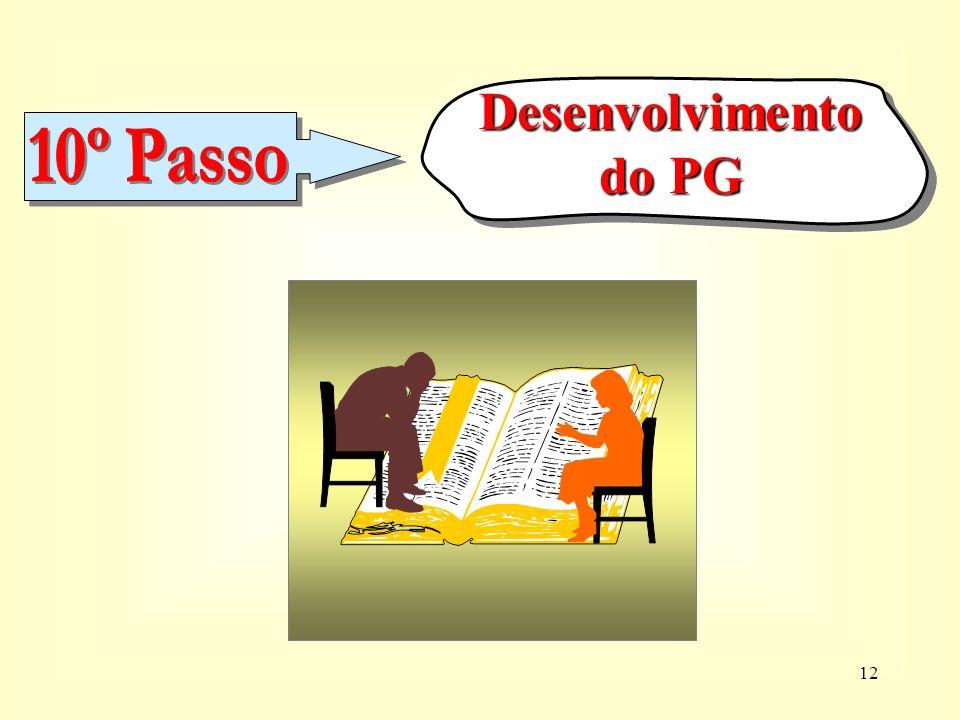 Desenvolvimento do PG 10º Passo