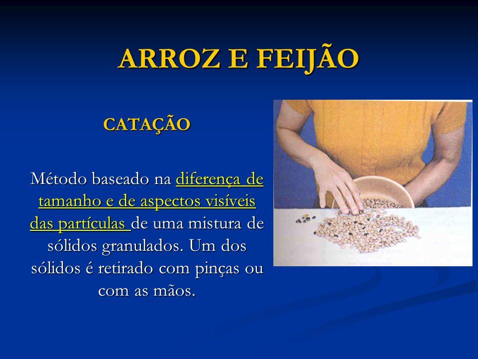 ARROZ E FEIJÃO CATAÇÃO.