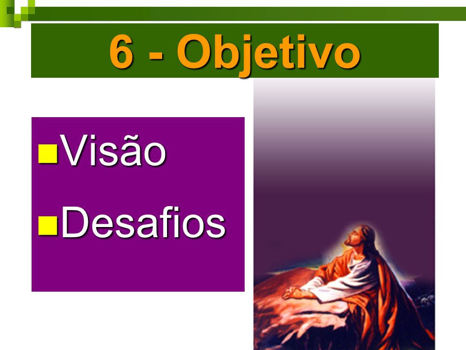 6 - Objetivo Visão Desafios