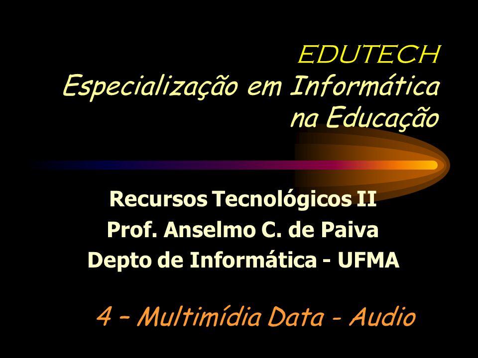 EDUTECH Especialização em Informática na Educação
