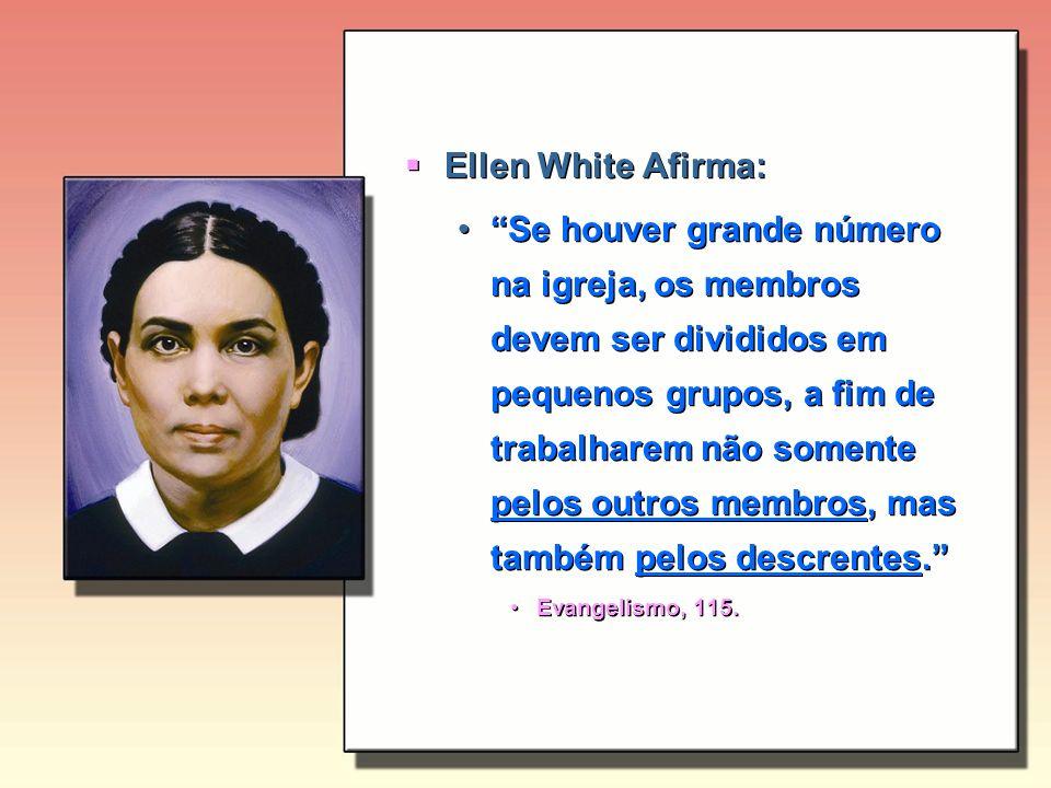 Ellen White Afirma: