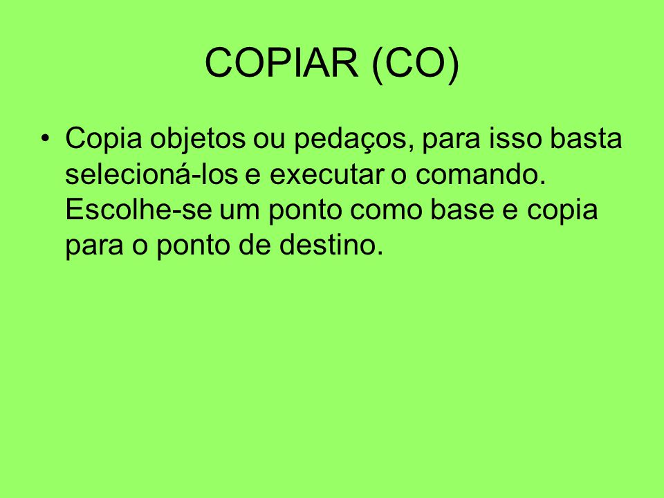 COPIAR (CO)