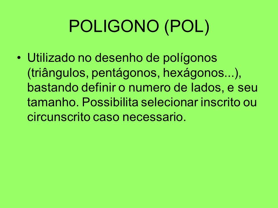 POLIGONO (POL)