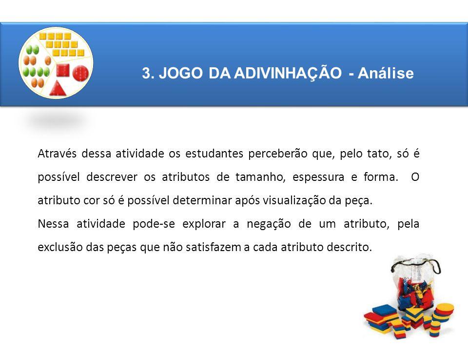 3. JOGO DA ADIVINHAÇÃO - Análise