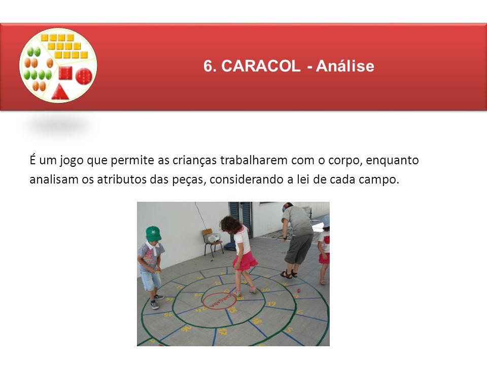 6. CARACOL - Análise