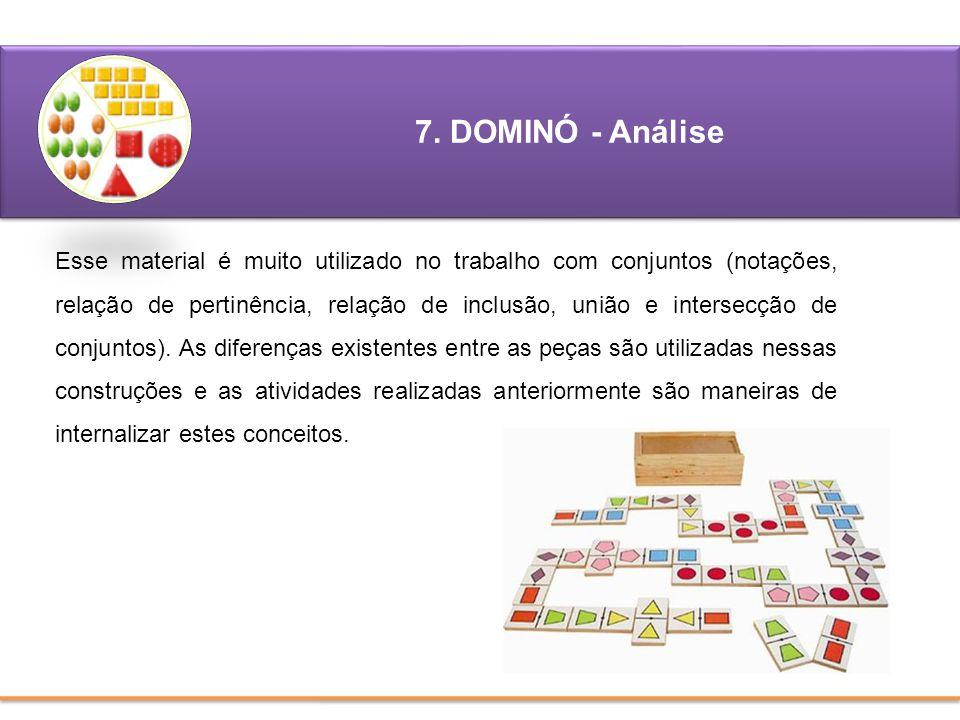 7. DOMINÓ - Análise